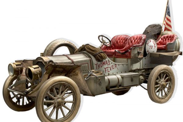 1907 Thomas Flyer 35 New York to Paris Racer