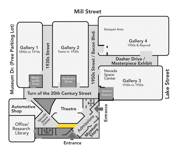 Entrance Hall Map