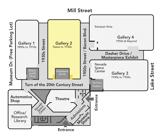 Gallery 2 Map