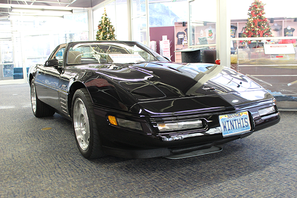 limited-edition 1993 Chevrolet Corvette ZR-1 Coupe